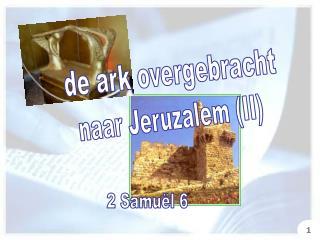 de ark overgebracht