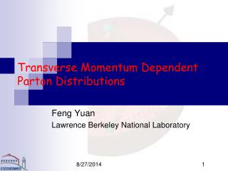 Transverse Momentum Dependent Parton Distributions