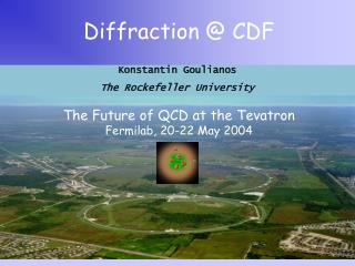 Diffraction @ CDF