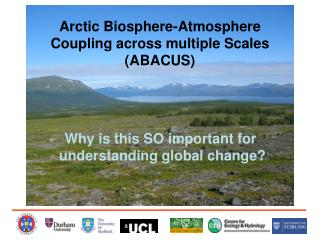 Arctic Biosphere-Atmosphere Coupling across multiple Scales (ABACUS)