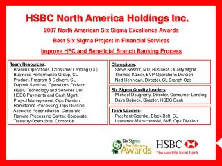 HSBC North America Holdings Inc.