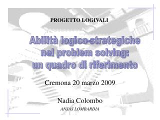 Cremona 20 marzo 2009 Nadia Colombo