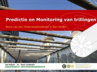 Predictie en Monitoring van trillingen