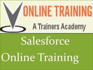Salesforce Online Training @VOnlineTraining  1 -610 990 3968