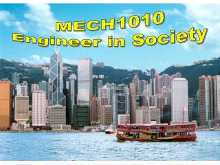MECH1010 Engineer in Society