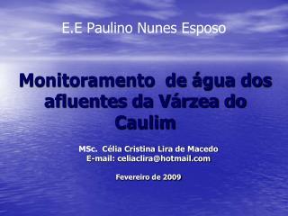 E.E Paulino Nunes Esposo
