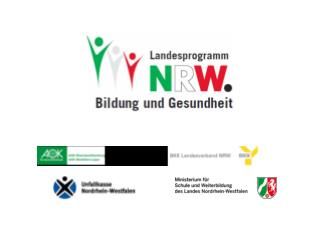 """Landesprogramm  """" Bildung und Gesundheit"""""""