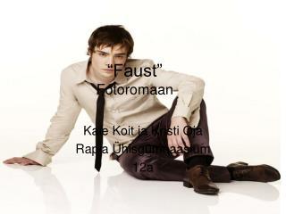 """""""Faust"""" Fotoromaan"""
