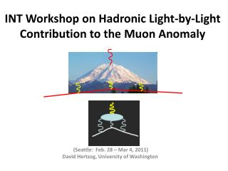 INT Workshop on  Hadronic  Light-by-Light Contribution to the  Muon  Anomaly