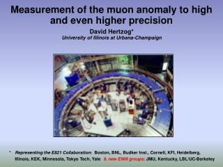Measurement of the muon anomaly to high and even higher precision