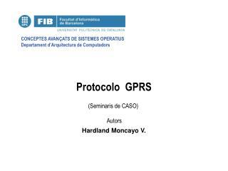 Protocolo  GPRS