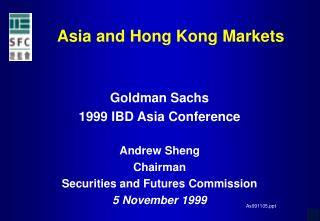 Asia and Hong Kong Markets
