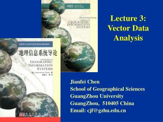 Lecture 3:  Vector Data Analysis