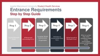 Immunization Requirements Update