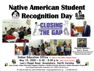 Native American Student Recognition Day