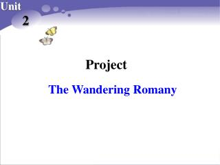 The Wandering Romany