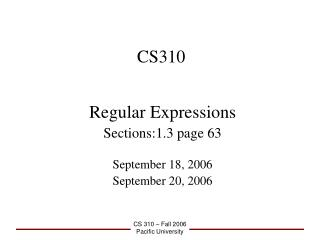 CS310