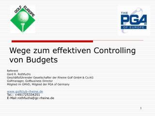 Wege zum effektiven Controlling von Budgets