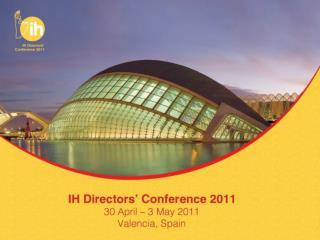 International House  World Organisation Ltd Annual General Meeting & Business Meeting
