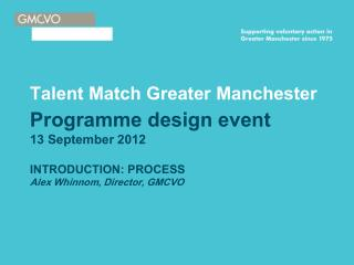 Talent Match Greater Manchester