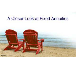 A Closer Look at Fixed Annuities