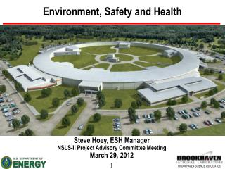 Environment, Safety and Health