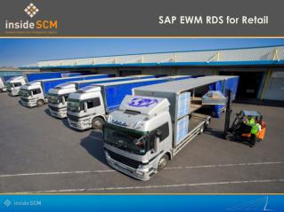 SAP EWM RDS for Retail