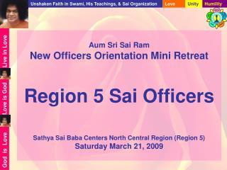 Regional Officers