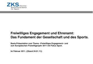 Freiwilliges Engagement und Ehrenamt: Das Fundament der Gesellschaft und des Sports.