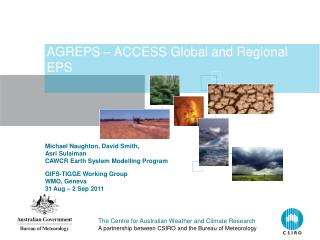 AGREPS – ACCESS Global and Regional EPS