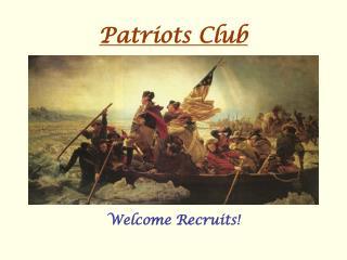 Patriots Club