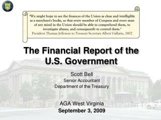 The Financial Report of the  U.S. Government