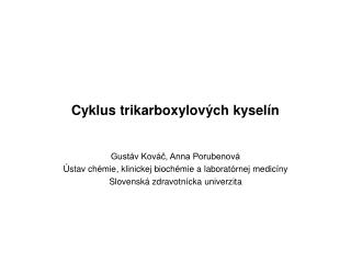 Cyklus trikarboxylových kyselín
