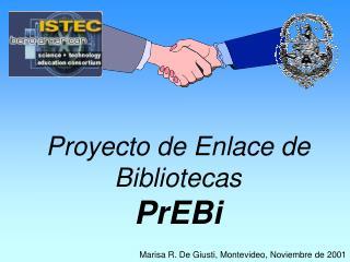 Proyecto de Enlace de Bibliotecas  PrEBi