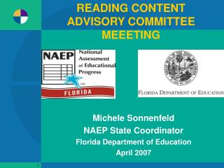 READING CONTENT ADVISORY COMMITTEE MEEETING