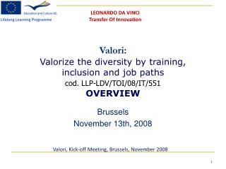 Brussels Novem ber  13th, 2008