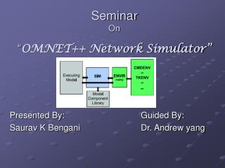 "Seminar  On "" OMNET++ Network Simulator"""