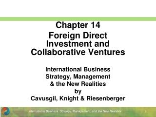 International Business Strategy, Management  the New Realities by Cavusgil, Knight  Riesenberger