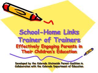Colorado School-Home Links