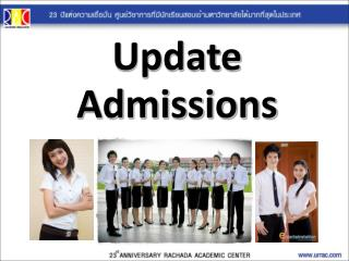 Update Admissions