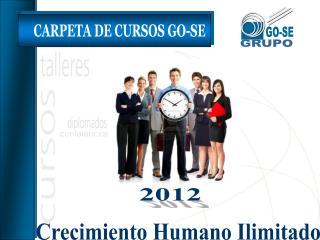 CARPETA DE CURSOS GO-SE