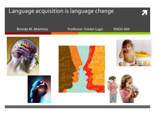 Language acquisition is language change