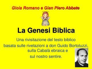 La Genesi Biblica