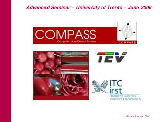 Advanced Seminar – University of Trento – June 2006