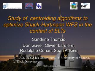 Study of  centroiding algorithms to optimize Shack-Hartmann WFS in the context of ELTs