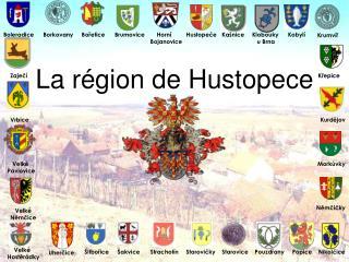 La région de Hustopece