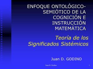 Teoría de los Significados Sistémicos