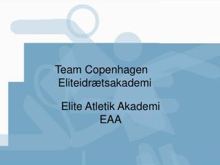 Team Copenhagen  Eliteidrætsakademi