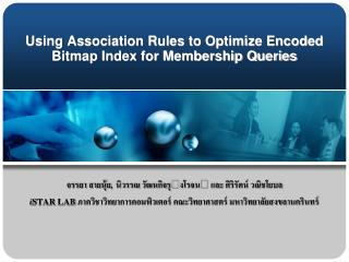 Using Association Rules to Optimize Encoded Bitmap Index for Membership Queries