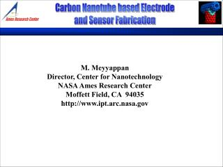 Carbon Nanotube based Electrode and Sensor Fabrication
